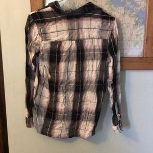 Mudd Tops - Girls flannel shirt.  Miss. Size 16